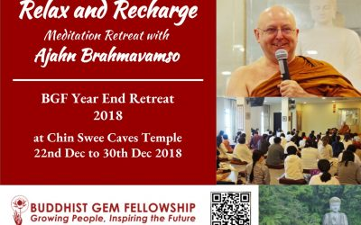 Ajahn Brahm Retreat Night Q&A @ Chin Swee Temple on 25 December 2018 – Transcript