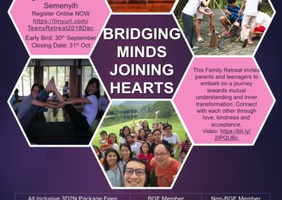 Bridging Minds Joining Hearts - 1