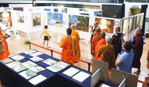 Wesak Day Art Exhibition - Tour