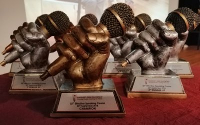 Outreach: The 32nd Effective Speaking Course Speech Contest