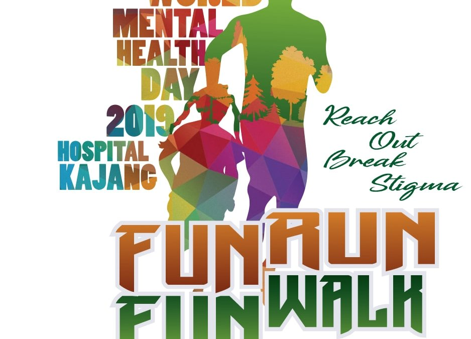 World Mental Health Day Fun Run on 12 October 2019 at Ecohill, Semenyih
