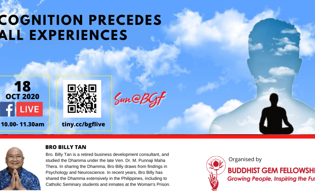 SunBGF – Cognition Precedes All Experience with Brother Billy Tan